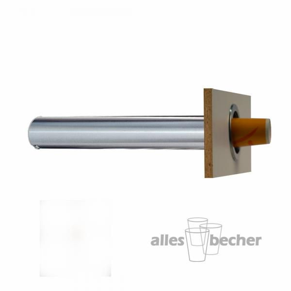 Becherspender Theke Horizontal 350-700ml