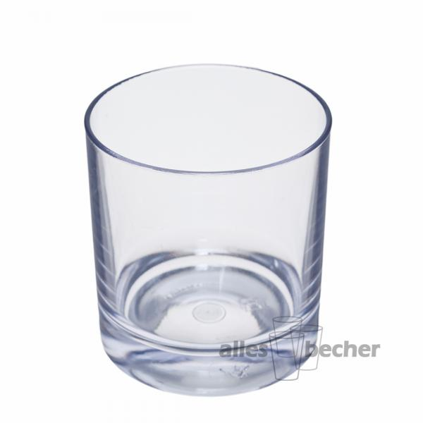 Whisky Glas glasklar