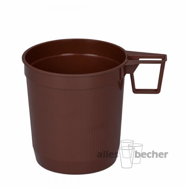 Teetasse PS braun 250ml