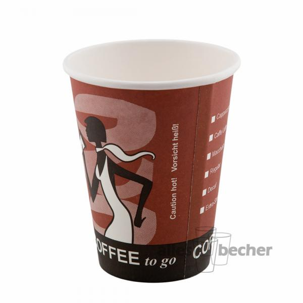 Pappbecher Coffee to Go D4 300ml