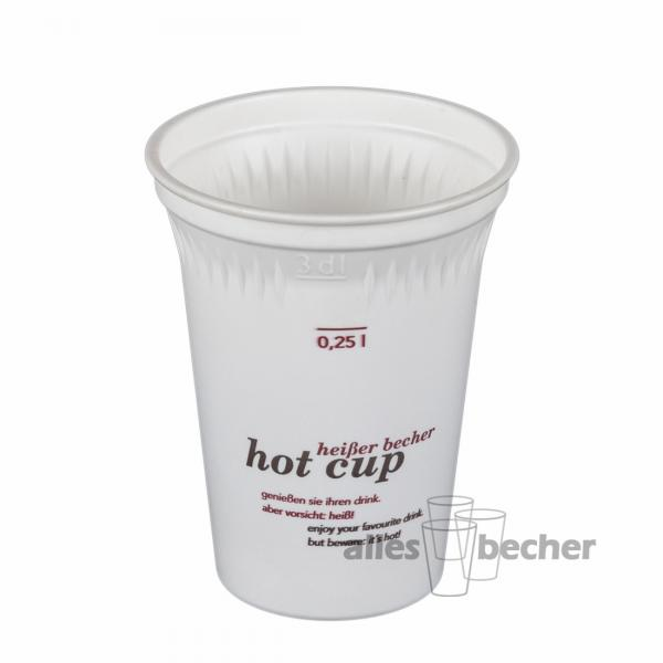 Thermobecher C-fine hot cup 250/300ml