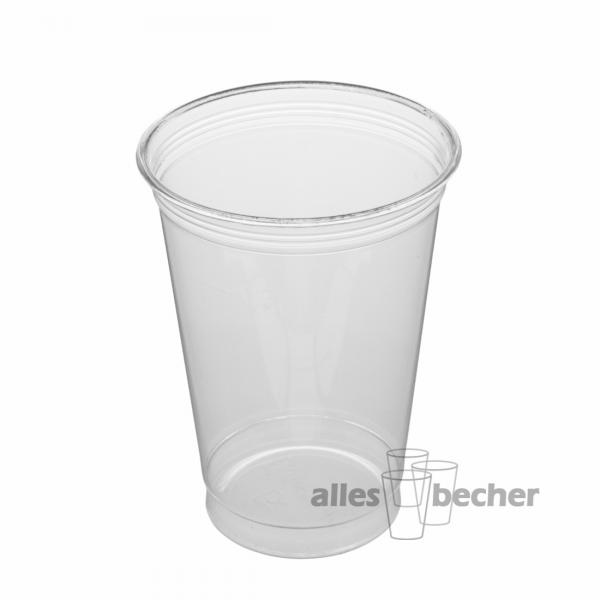 PET Becher Straight 300ml