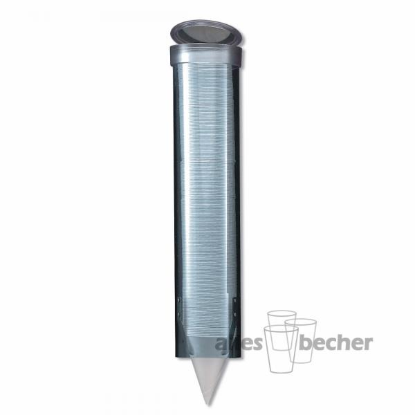Becherspender transparent small 150-300ml