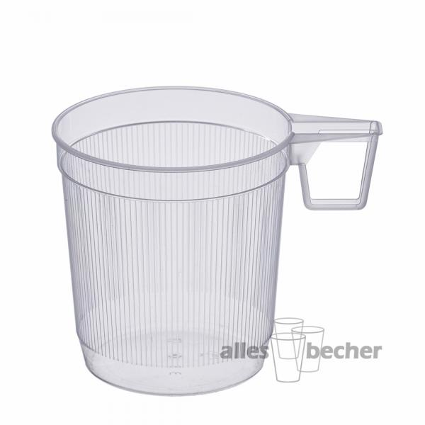 Teetasse PS glasklar 250ml