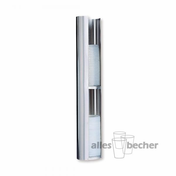 Becherdeckelspender 2-fach medium 180-700ml