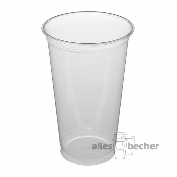PET Becher Straight 500ml