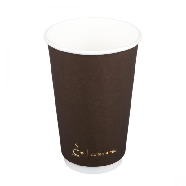 Pappbecher Doppelwand Coffee-time 400ml
