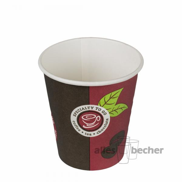 Pappbecher Cafe D1 180ml/7oz