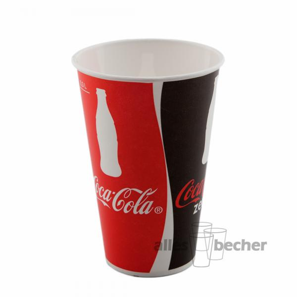 Pappbecher Cola 300ml