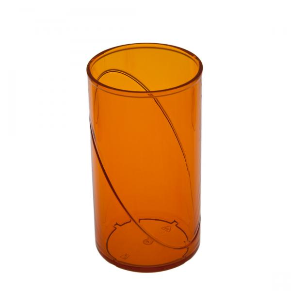 Wasserglas SAN orange 250ml