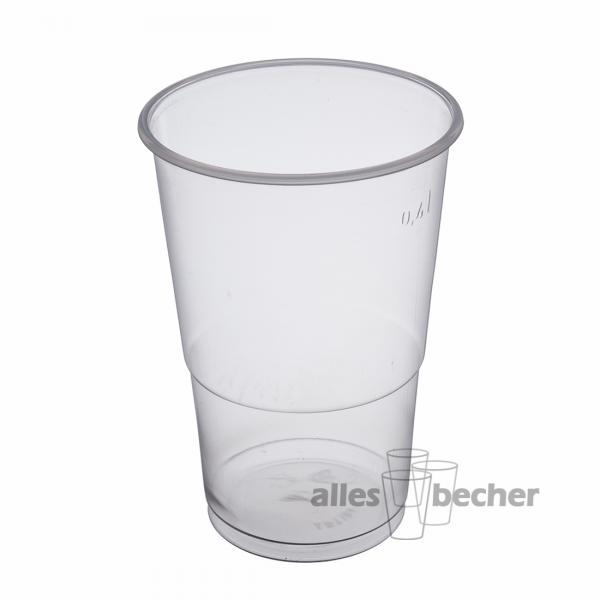 PP Ausschankbecher transparent 400ml