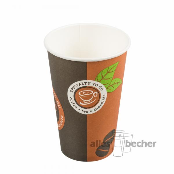 Pappbecher Cafe D1 300ml/12oz
