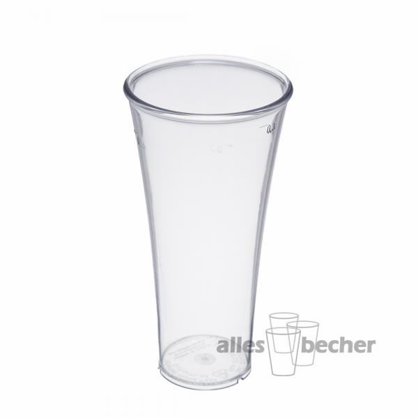 Trinkbecher Calyx PC glasklar 300ml