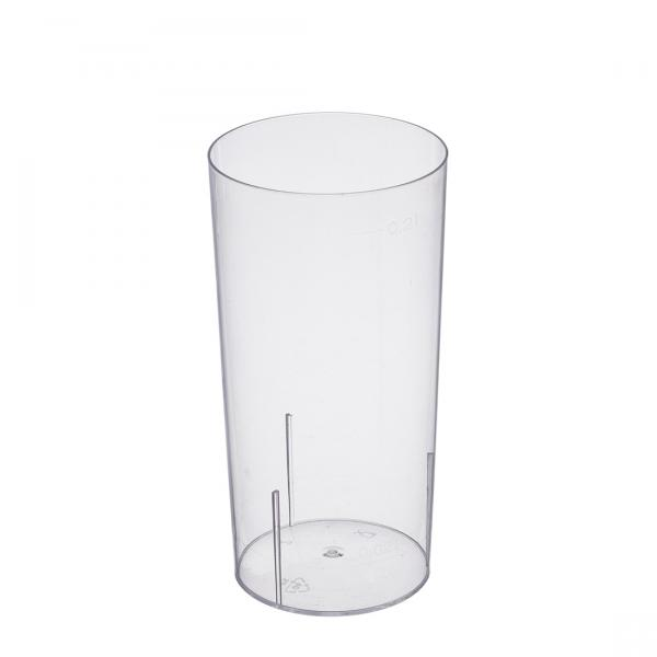 Longdrinkglas PS glasklar 200ml